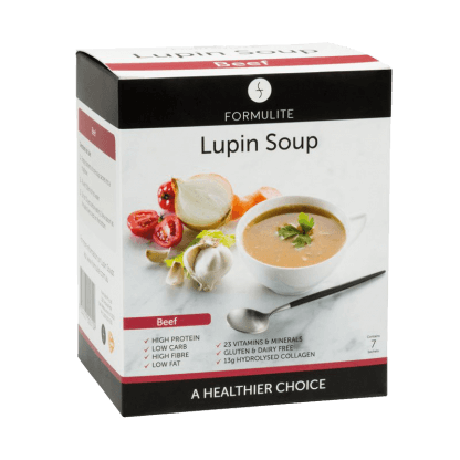 Low Carb Lupin Beef Soup