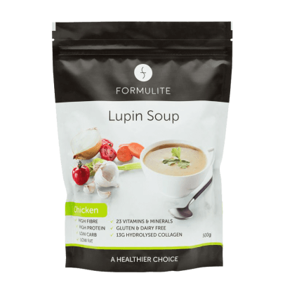 Low Carb Lupin Chicken Soup