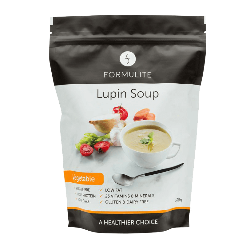 Low Carb Lupin Vegetable Soup